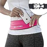 Laufgürtel, voll einstellbarer Verschluss, Fitness-Gürtel, Schlüsselclip. Geeignet für iPhone...