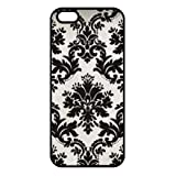 iPhone 6 PLUS iPhone 6S PLUS - 5.5 Inch Protective Phone Housses for Black Paisley...