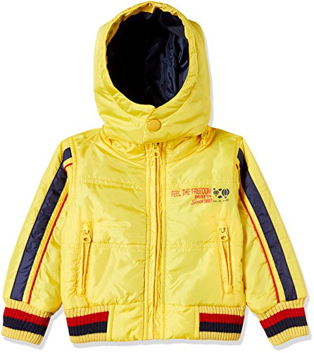 Donuts Baby Boys' Jacket (268014761_YELLOW_12M_FS)