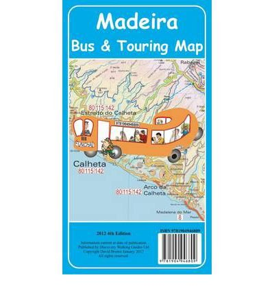 [(Madeira Bus & Touring Map 4th Edition 2012)] [ By (author) David Brawn, Illustrated by David Brawn ] [December, 2011]