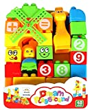 #4: Funny Teddy Education Learning Block Toys | Best for Infants and Toddler / Kids | Birthday Gift