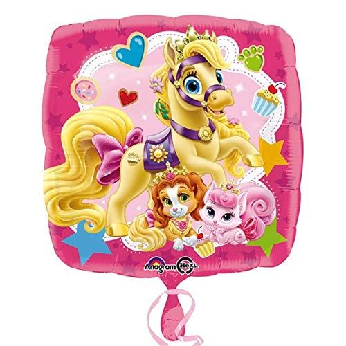 43,2cm Disney Palace Pets Ballon rosa Prinzessinnen Geburtstag Dekoration Prinzessin Kürbis Teetasse Schönheit Dreamy Blondie Party Geschenk Get Well Party Dekoration (Palace Pets Geburtstag)