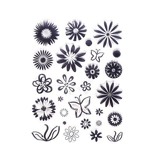 ccinee-cling-transparent-silicone-butterfly-and-flower-art-clear-rubber-stamp