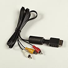 Sony Playstation PS3PS2Konsole System AV Audio Video Kabel Kordel LU