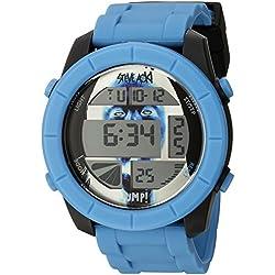 Steve Aoki Men's SA 2005 BL Steve Aoki Digital Display Japanese Quartz Blue Watch