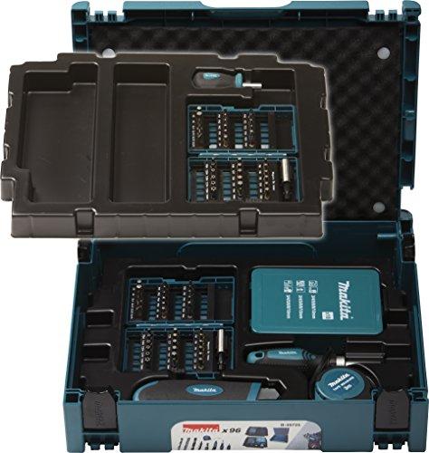 Preisvergleich Produktbild Makita Bohrer-Bit-Set 96-teilig Makpac, B-49725