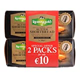 Traditional Irish Butter Kerrygold Shortbread Biscuits, 600 g (2 Pakete à 300 g)