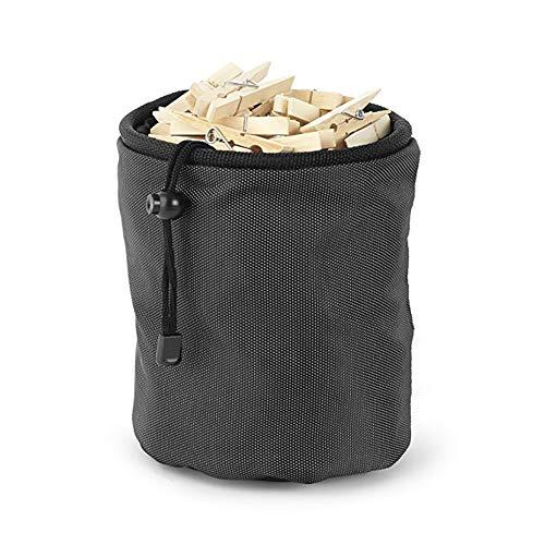 JIALI Aufbewahrungstasche mit Kordelzug, wasserdicht, zum Aufhängen, Zylindertasche -