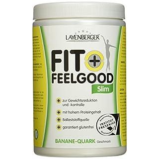 Layenberger Fit+Feelgood Slim Mahlzeitersatz Banane-Quark, 1er Pack (1 x 430g)