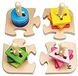 Hape E0411 - Kreatives Steckpuzzle, 16 teilig hergestellt von Hape