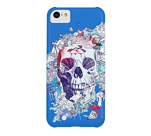 electric-kool-aid-rejects-iphone-5c-bright-navy-blue-barely-there-phone-case