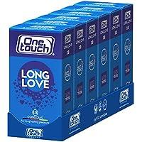 One Touch 6x12 Stück Benzocain Kondome LONG LOVE Für länger anhaltende Vergnügen 6 x 12 Stück preisvergleich bei billige-tabletten.eu