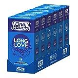 One Touch 6x12 Stück Benzocain Kondome LONG LOVE Für länger anhaltende Vergnügen 6 x 12 Stück
