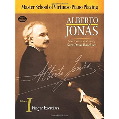 Alberto Jonas Finger Exercises Volume I Master School Of Virtuoso