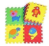 Tappeto Puzzle Padgene set Mattonelle Puzzle Lettere Tappeto da Gioco per Bambini Superficie Gioco Tappeto per Giocare Tappetino in Gomma Morbida Tappeto Colorato con Numeri e Lettere dell'Alfabeto per Bambini con il Certificato UL 10 Pezzi immagine