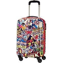 American tourister Marvel Legends Spinner 75/28 Joytwist Maleta de mano, 55 cm, 36 liters, Multicolor