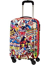 American tourister - American Tourister - Disney Marvel Legends - Spinner 55/20 Alfatwist 2.0 Children's Luggage, 55 cm, 36 liters, Multicolour (Marvel Comics)