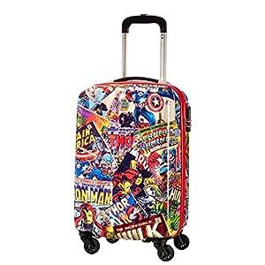 American tourister - American Tourister - Disney Marvel Legends - Spinner 55/20 Alfatwist 2.0 Children's Luggage, 55 cm, 36 liters, Multicolour (Marvel Comics)