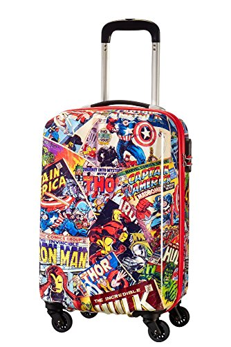 American Tourister Marvel Legends - Spinner 55/20 Alfatwist 2.0 Valigia per bambini, 55 cm, 36 liters, Multicolore (Marvel Comics)