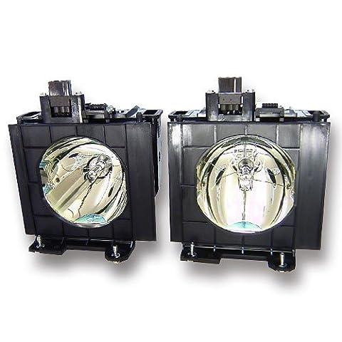 Alda PQ® - Original lampe de projecteur / rechange pour PANASONIC PT-D4000U (Dual) projecteurs, lampe originale avec PRO-G6s logements / monter