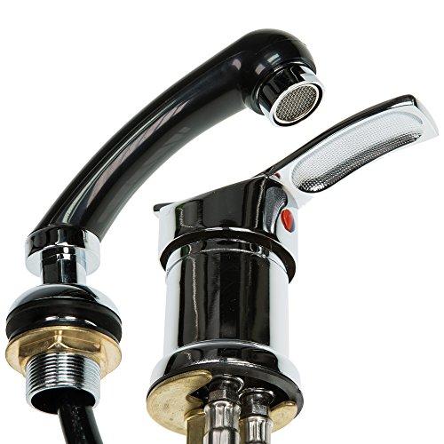 Mischbatterie und Handbrause WHIRL + SHOWER für Friseurwaschsessel