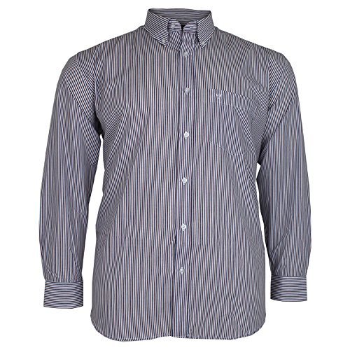 Cotton Valley - Chemise casual - Homme rouge/bleu marine