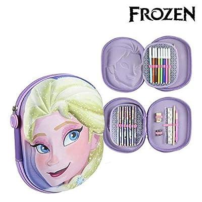 Disney-2700000217 Frozen Plumier, 24 cm Artesanía Cerdá CD-27-0217 por Artesanía Cerdá