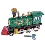 Sharplace Wind-up Fahrzeuge Clockwork Auto Modell Blechspielzeug Geschenk für Kinder - Lokomotive, Ca. 12.5 * 4 * 7.5cm / 4.92 * 1.57 * 2.95inch