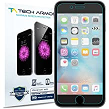 Tech Armor iPhone 6S Screen Protector, Tech Armor Apple iPhone 6 (4.7 inch ONLY) High Defintion (HD) Clear Screen Protectors - Maximum Clarity [3-Pack]