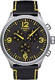 Tissot Herren-Armbanduhr Analog Quarz One Size, schwarz, schwarz