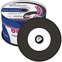 2x MR226MediaRange (= 100DISCS) CD-R (52x Speed, 700MB/80Min, Printable Vinyl 2x Spindle of 50)