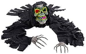WIDMANN?Esqueleto Groundbreaker con Luce CAMBIACOLORE Unisex-Adult, Negro, talla única, vd-wdm04881