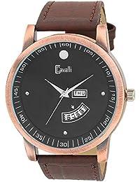 Cavalli Analogue Black Dial Men's & Boy's Watch - Cs2677