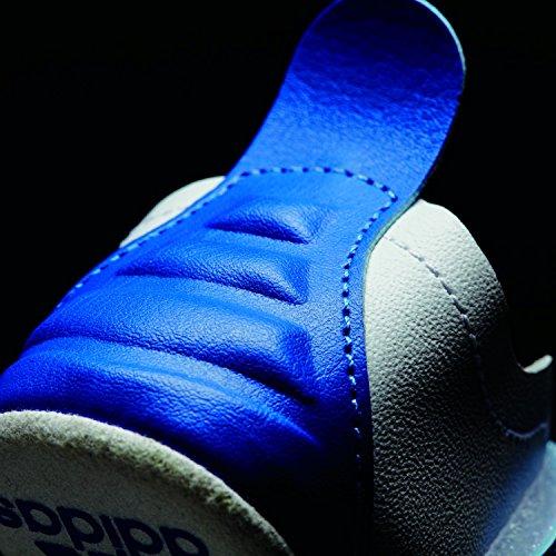 Chaussures adidass nourissons blanc/bleu marine/bleu