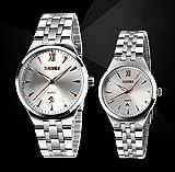 Autulet Herren Chronograph Analoges Quarzwerk Watches with Edelstahl Uhrenarmband