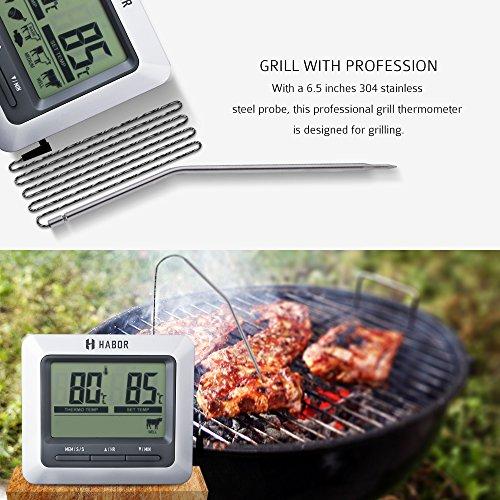 Zoom IMG-2 habor termometro cucina digitale