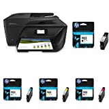 HP Officejet 6950 Multifunktionsdrucker  schwarz + HP 903 Multipack