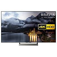 "Sony Bravia 75XE9005 LED HDR 4K Ultra HD Smart Android TV, 75"" with Freeview HD & Youview, Black"