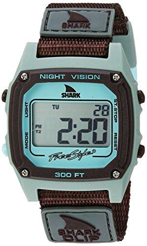 freestyle unisex 10026748Shark clip display digitale grigio orologio al quarzo giapponese