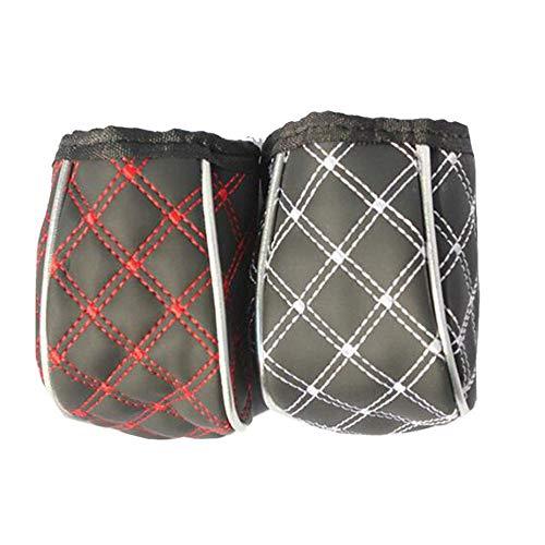 Vlook 2 Stücke Air Outlet Bag Organizer Box Sunglass Halter Leder mit Sicherungsclip Halten Sie es aufgeräumt Multifunktions Mode für Handys Zigarette