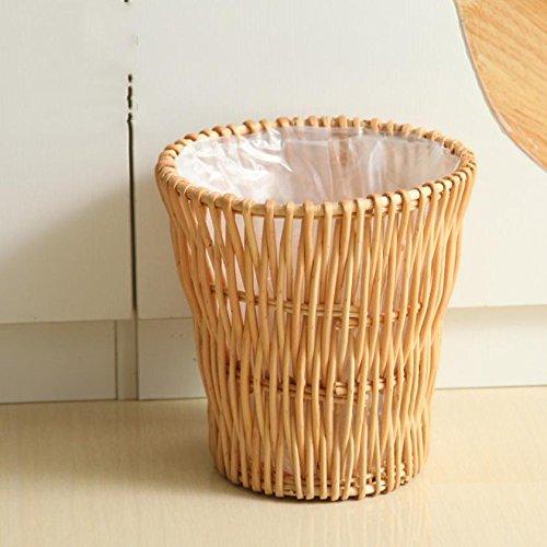 Handgemachte Papier Korb liubian Umweltfreundliche Lagerplatz Haushalt WC-26* 28cm (Doppel-brenner Tragbare)