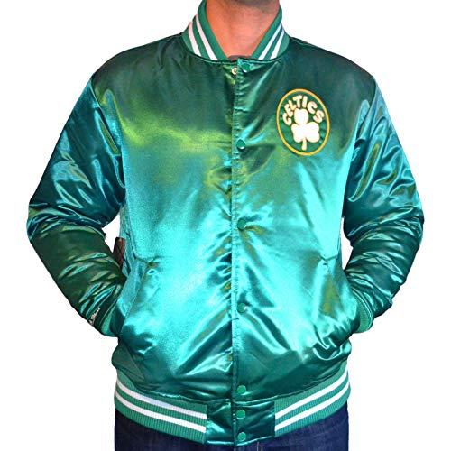 Mitchell & Ness Herren College Jacke HWC Team Boston Celtics grün M