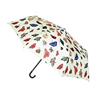 Signare Folding Umbrellas, Hook Handle and Straight Handle in Butterfly Design