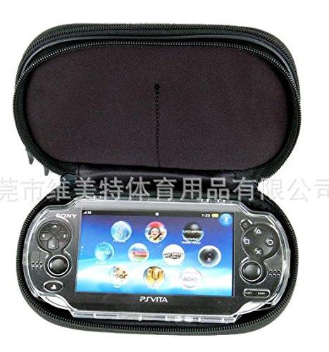 Reise Case für PS Vita oder andere Spiele. Doppelfach für Zubehör.