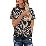 Vovotrade Camicia Donna Bluse Donne T-Shirt Top Camicetta Confortevole Casa Abito Primavera Autunno Top Donna Camicia