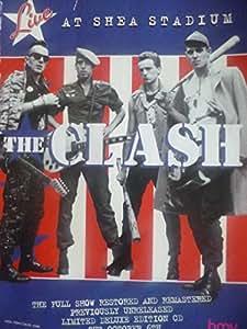 The Clash au Karité :  Stadium Affiche encadrée appuyez sur