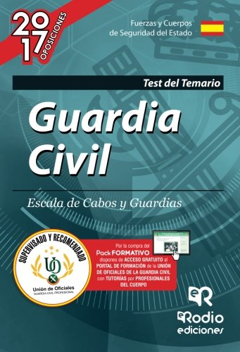 Guardia Civil. Escala de Cabos y Guardias. Test del Temario. Edición 2017