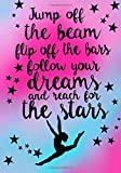 Best Disney Teen Books For Girls - Jump Off The Beam.(Gymnastics Journal For Girls): Lined Review