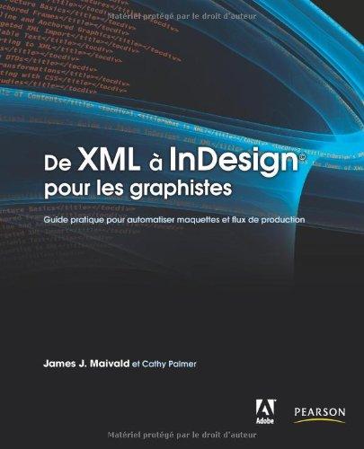 De XML à InDesign pour les graphistes: Guide pratique pour automatiser maquettes et flux de production