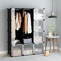 منظم مكعبات التخزين المتشابك من Tespo منظم رفوف تخزين منظم خزانة خزانة خزانة خزانة خزانة خزانة خزانة خزانة خزانة التخزين
